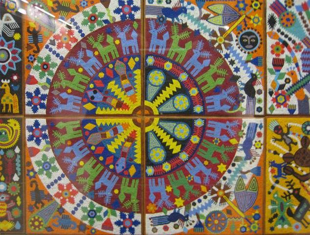 Мозайка из бисера.